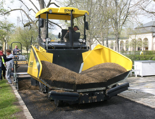 Bomag road building equipment