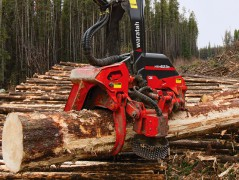 Waratah forestry equipment